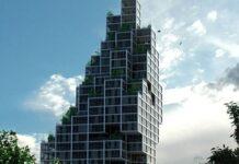 Un exemplu de clădire modernă înaltă